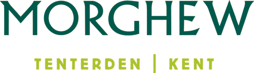 Morghew Park Logo with location Tenterden beneath it