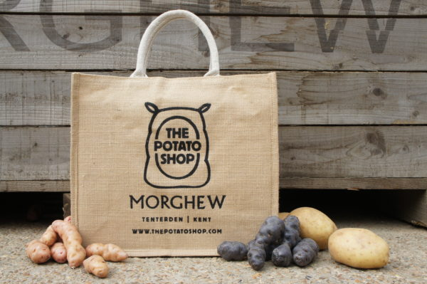 The Potato Shop Jute Bag