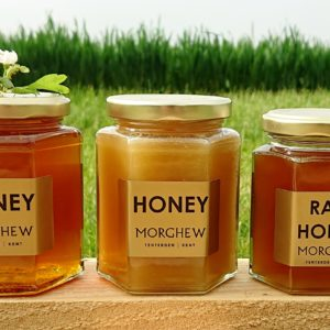 Runny honey, set honey and raw honey.