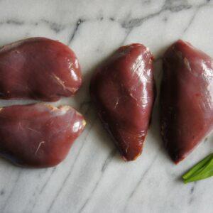 Pigeon Breasts x 4 2021 Morghew Park Estate