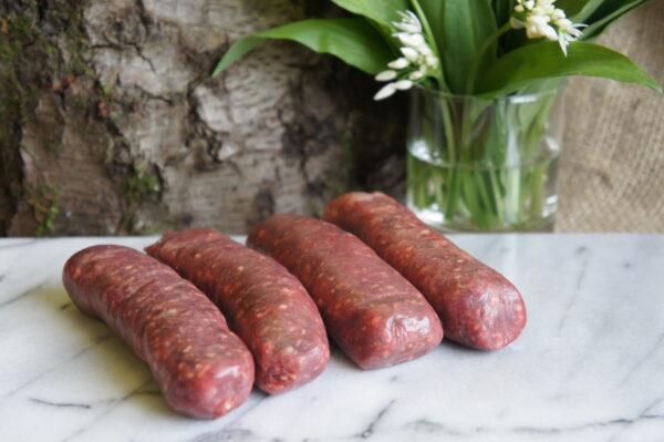Venison Sausages 2021 Morghew Park Estate